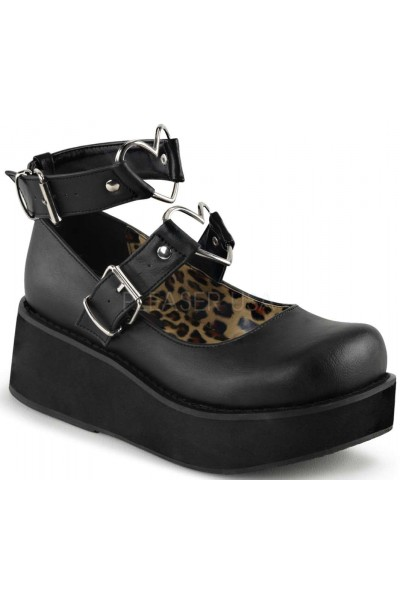 Sprite Heart Ring Black Platform Mary Jane at Mild to Wild Womens Shoes,  Shoes for Women from Flats to Extreme High Heels & Platforms