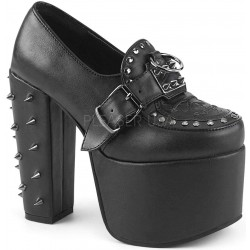 Torment Studded Platform Gothic Loafer Mild to Wild Womens Shoes  Shoes for Women from Flats to Extreme High Heels & Platforms