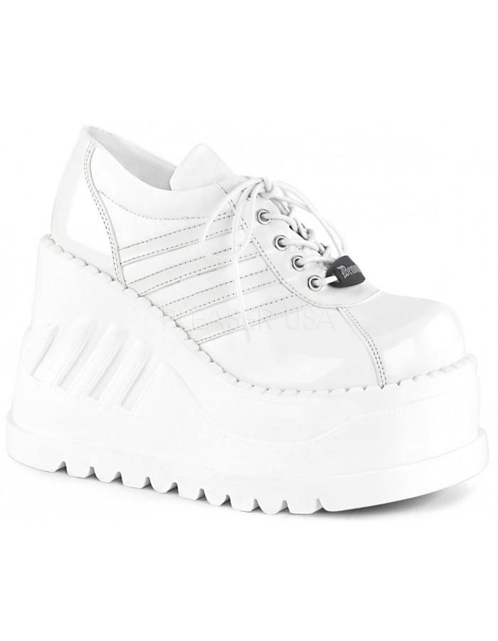 Stomp Womens Platform Sneaker - Gothic