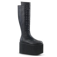 Rot Embossed Womens Platform Boots