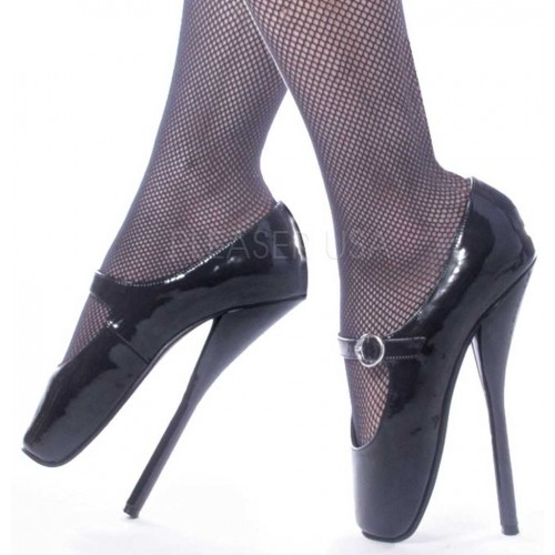 Ballet Extreme Black Mary Jane Shoe at Mild to Wild Shoes,  Shoes for Women from Flats to Extreme High Heels & Platforms