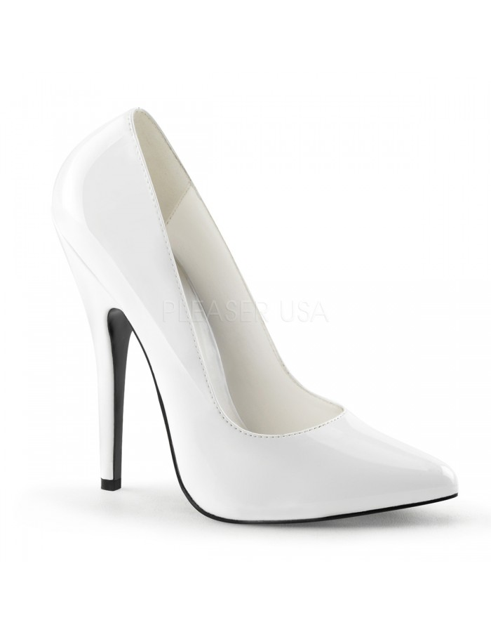 White Stiletto Heels