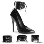 Ankle Cuff Domina 6 Inch High Heel Pump at Mild to Wild Shoes,  Shoes for Women from Flats to Extreme High Heels & Platforms
