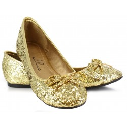 Gold Glitter Mila Ballet Flats Mild to Wild Womens Shoes  Shoes for Women from Flats to Extreme High Heels & Platforms