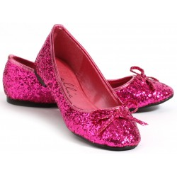 Fuchsia Glitter Mila Ballet Flats Mild to Wild Womens Shoes  Shoes for Women from Flats to Extreme High Heels & Platforms