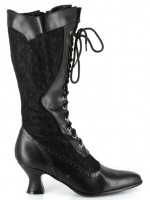 Rebecca Victorian Black Lace Boot at Mild to Wild Womens Shoes,  Shoes for Women from Flats to Extreme High Heels & Platforms