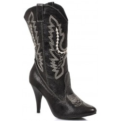 Black Scrolled Cowgirl Boots Mild to Wild Womens Shoes  Shoes for Women from Flats to Extreme High Heels & Platforms