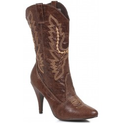 Brown Scrolled Cowgirl Boots Mild to Wild Womens Shoes  Shoes for Women from Flats to Extreme High Heels & Platforms