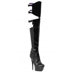 Felicia 6 Inch Heel Thigh High Platform Boot Mild to Wild Womens Shoes  Shoes for Women from Flats to Extreme High Heels & Platforms