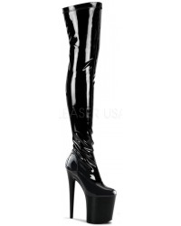 Flamingo 8 Inch Heel Thigh High Platform Boot