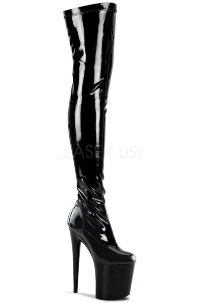 Flamingo 8 Inch Heel Thigh High Platform Boot at Mild to Wild Womens Shoes,  Shoes for Women from Flats to Extreme High Heels & Platforms