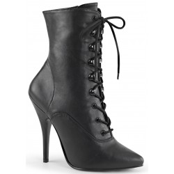Seduce 1020 5 Inch Heel Black Ankle Boot Mild to Wild Womens Shoes  Shoes for Women from Flats to Extreme High Heels & Platforms