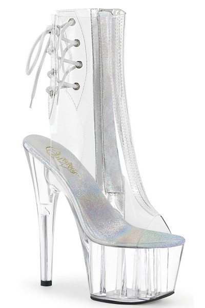Clear Platform Adore Ankle Boot at Mild to Wild Womens Shoes,  Shoes for Women from Flats to Extreme High Heels & Platforms
