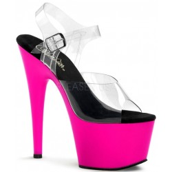 Neon Pink Platform Adore High Heel Sandals Mild to Wild Womens Shoes  Shoes for Women from Flats to Extreme High Heels & Platforms