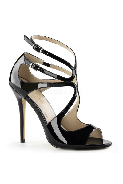 Amuse Black Curvy Sandal at Mild to Wild Womens Shoes,  Shoes for Women from Flats to Extreme High Heels & Platforms