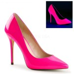 Amuse Neon Fuchsia 5 Inch High Heel Pump at Mild to Wild Shoes,  Shoes for Women from Flats to Extreme High Heels & Platforms