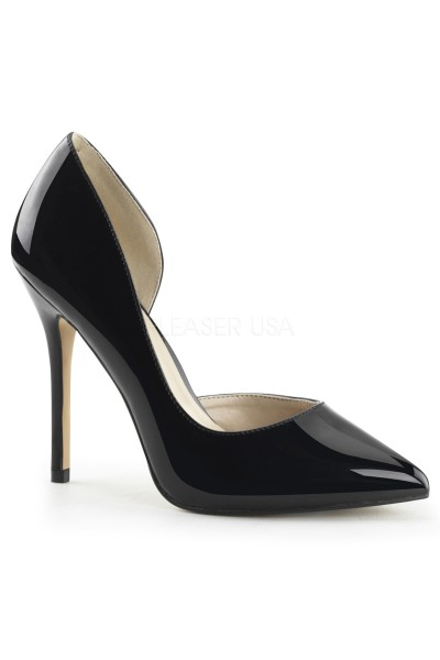 Amuse Black 5 Inch High Open Side Pump at Mild to Wild Womens Shoes,  Shoes for Women from Flats to Extreme High Heels & Platforms