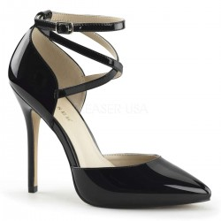 Dorsey Criss Cross Ankle Strap Black Amuse Pump Mild to Wild Womens Shoes  Shoes for Women from Flats to Extreme High Heels & Platforms