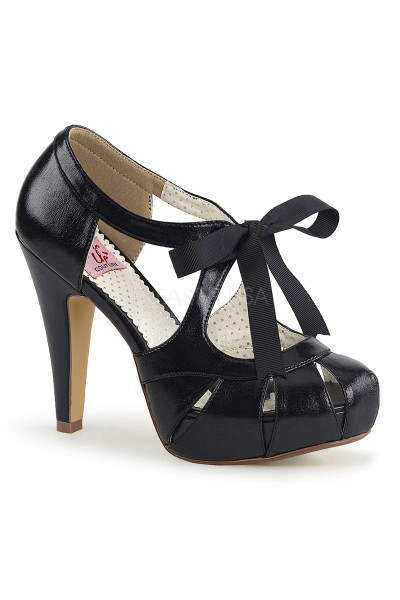 Bettie Black High Heel Vintage Pump at Mild to Wild Womens Shoes,  Shoes for Women from Flats to Extreme High Heels & Platforms
