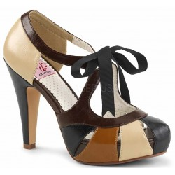 Bettie Brown High Heel Vintage Pump