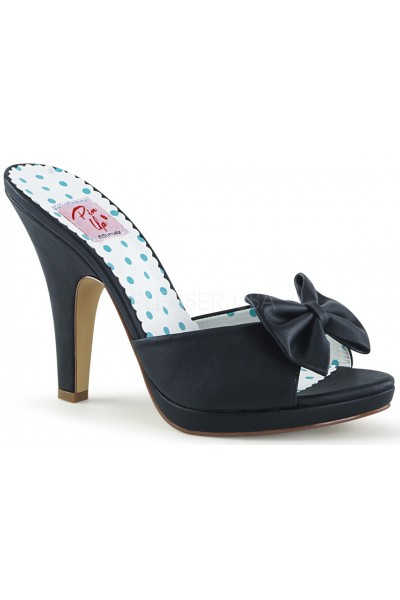 Siren Black Mule with Bow at Mild to Wild Womens Shoes,  Shoes for Women from Flats to Extreme High Heels & Platforms