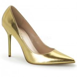 Gold Classique Pointed Toe Pump Mild to Wild Womens Shoes  Shoes for Women from Flats to Extreme High Heels & Platforms