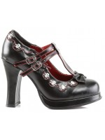 Crypto T-Strap Skull Pump at Mild to Wild Womens Shoes,  Shoes for Women from Flats to Extreme High Heels & Platforms