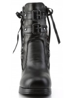 Corset Laced Crypto Gothic Ankle Boot