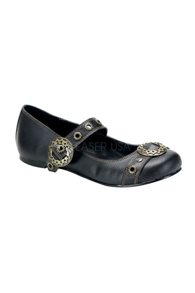 Steampunk Flat Mary Jane Shoe at Mild to Wild Womens Shoes,  Shoes for Women from Flats to Extreme High Heels & Platforms