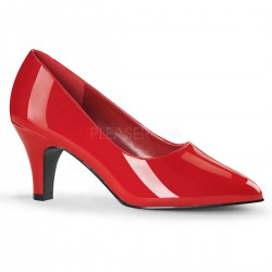 Divine Red Wide Width Pump Mild to Wild Shoes  Shoes for Women from Flats to Extreme High Heels & Platforms