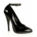 Ankle Strap Domina 6 Inch High Heel Pump at Mild to Wild Shoes,  Shoes for Women from Flats to Extreme High Heels & Platforms