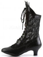 Victorian Dame Black Lace Boot at Mild to Wild Womens Shoes,  Shoes for Women from Flats to Extreme High Heels & Platforms