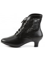 Victorian Dame Black Ankle Boot at Mild to Wild Womens Shoes,  Shoes for Women from Flats to Extreme High Heels & Platforms