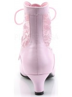 Victorian Dame Baby Pink Ankle Boot at Mild to Wild Womens Shoes,  Shoes for Women from Flats to Extreme High Heels & Platforms