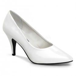 White Classic Pump 420 with 3 Inch Heel Mild to Wild Womens Shoes  Shoes for Women from Flats to Extreme High Heels & Platforms