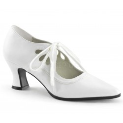 Victorian White Cut Out Womens Pump Mild to Wild Womens Shoes  Shoes for Women from Flats to Extreme High Heels & Platforms