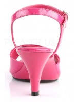 Hot Pink Belle 3 Inch Heel Sandal at Mild to Wild Womens Shoes,  Shoes for Women from Flats to Extreme High Heels & Platforms