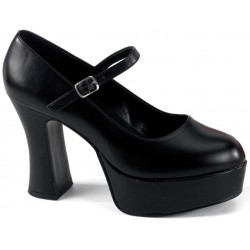 Black Mary Jane Square Heeled Pump Mild to Wild Womens Shoes  Shoes for Women from Flats to Extreme High Heels & Platforms