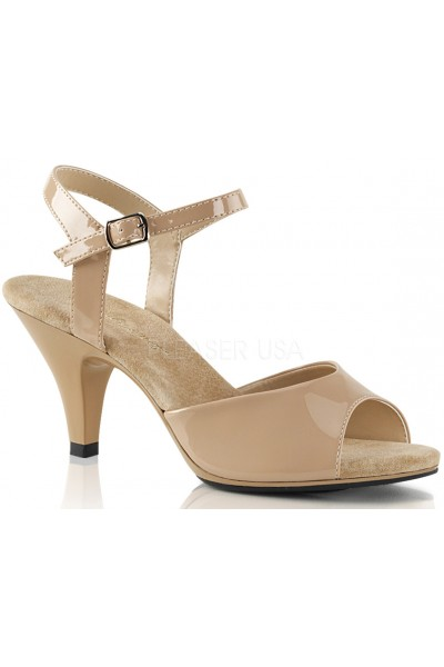 Nude Belle 3 Inch Heel Sandal at Mild to Wild Womens Shoes,  Shoes for Women from Flats to Extreme High Heels & Platforms
