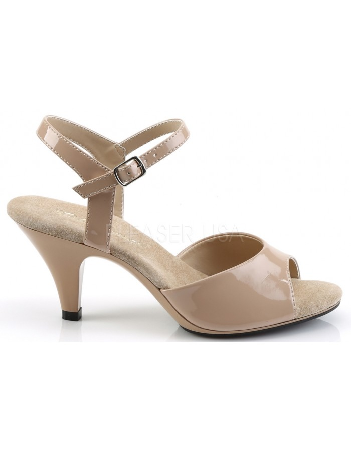 1730706641f ... Nude Belle 3 Inch Heel Sandal at Mild to Wild Womens Shoes