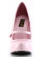 Cutie Pie Baby Pink Mary Jane Pin Up Pumps at Mild to Wild Womens Shoes,  Shoes for Women from Flats to Extreme High Heels & Platforms