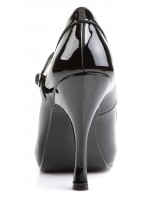 Pretty Black Mary Jane Pump at Mild to Wild Womens Shoes,  Shoes for Women from Flats to Extreme High Heels & Platforms