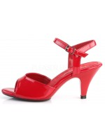 Red Belle 3 Inch Heel Sandal at Mild to Wild Womens Shoes,  Shoes for Women from Flats to Extreme High Heels & Platforms