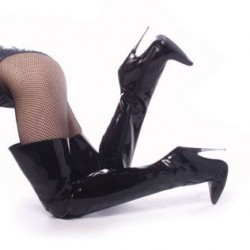 Thigh High Scream Fetish Boots with 6 Inch Heel Mild to Wild Womens Shoes  Shoes for Women from Flats to Extreme High Heels & Platforms