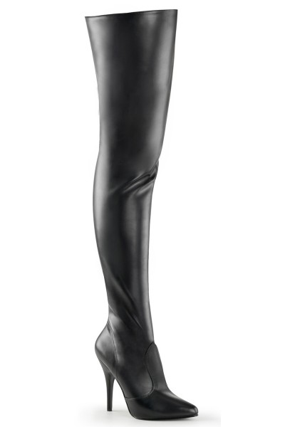 Pretty Woman Seduce Black Thigh High Boots at Mild to Wild Womens Shoes,  Shoes for Women from Flats to Extreme High Heels & Platforms