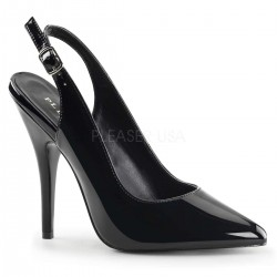 Black Seduce Slingback Pump Mild to Wild Womens Shoes  Shoes for Women from Flats to Extreme High Heels & Platforms