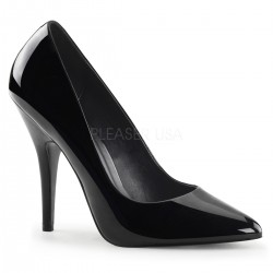 Black 5 Inch Heel Seduce Stiletto Pump Mild to Wild Womens Shoes  Shoes for Women from Flats to Extreme High Heels & Platforms