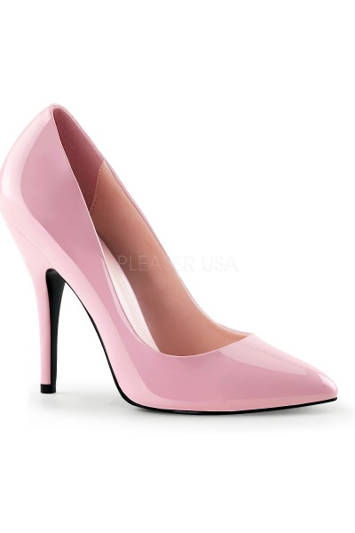 Baby Pink 5 Inch Heel Seduce Stiletto Pump at Mild to Wild Womens Shoes,  Shoes for Women from Flats to Extreme High Heels & Platforms