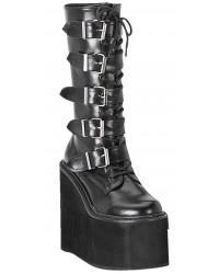 Swing Womens Platform Mid-Calf Boots