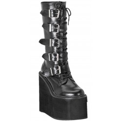 Swing Womens Platform Mid-Calf Boots Mild to Wild Womens Shoes  Shoes for Women from Flats to Extreme High Heels & Platforms